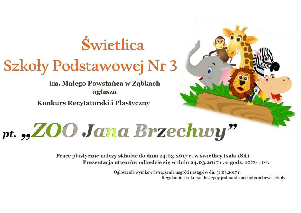 Konkursy Szkoła Podstawowa Nr 3